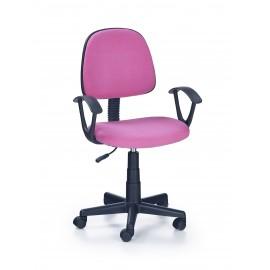 Fotel Obrotowy Darian bis (różowy)- Halmar