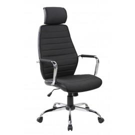 Fotel Obrotowy QZy-41H (czarny)- Furnitex