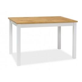Stół Adam (dąb wotan/ biały mat) 100x60- Signal