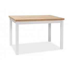 Stół Adam (dąb lancelot/ biały) 120x68- Signal