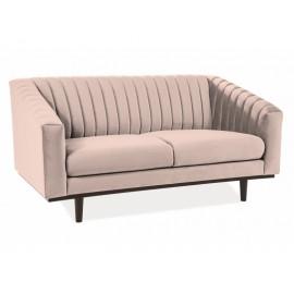 Sofa Asprey Velvet 2 (beżowy)- Signal