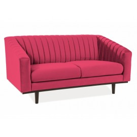 Sofa Asprey Velvet 2 (bordowy)- Signal