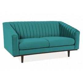 Sofa Asprey Velvet 2 (turkusowy)- Signal