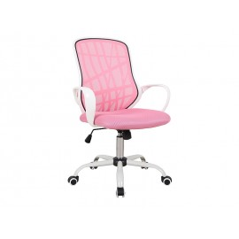 Fotel obrotowy Dexter (różowy)- Signal