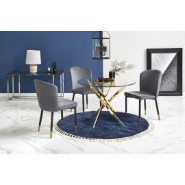 Stół Raymond nogi złote - Halmar