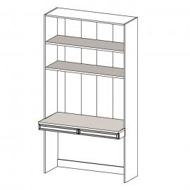 Merano ME-7 panel z biurkiem - Taranko