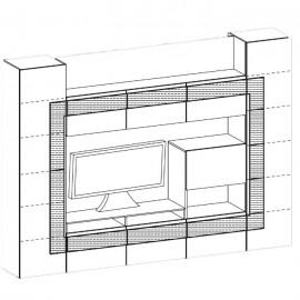 Cube CU-meblościanka - Taranko