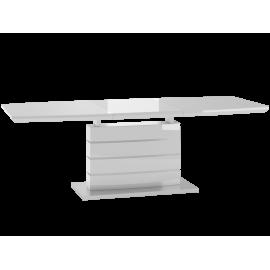Stół rozkładany  EH-01(biały połysk) -Furnitex