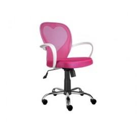 Fotel Obrotowy Daisy (różowy)- Signal