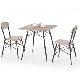 Zestaw stół+2 krzesła Kabir- Halmar