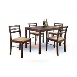 NEW STARTER zestaw stół + 4 krzesła- Halmar