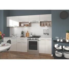 Zestaw kuchenny VIOLA 260 (biały/dąb sonoma)- Halmar