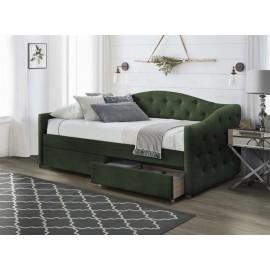 Łóżko Aloha 90 (zielony)- Halmar