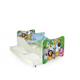 Łóżko Happy Jungle- Halmar
