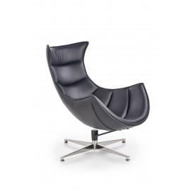 Fotel Luxor (czarny)- Halmar