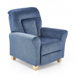 Fotel Bard (ciemny niebieski)- Halmar