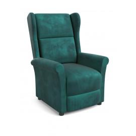 Fotel Agustin 2 (ciemny zielony) - Halmar