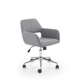 Fotel Obrotowy Morel (popielaty)- Halmar