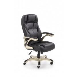 Fotel Obrotowy Carlos (czarny)- Halmar