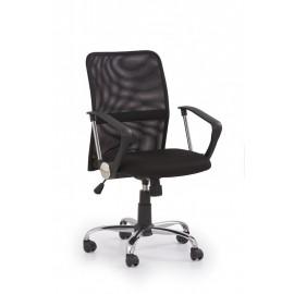 Fotel Obrotowy Tony (czarny)- Halmar