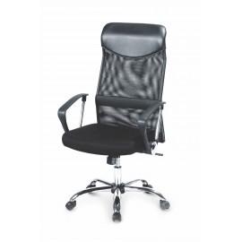 Fotel Obrotowy Vire (czarny)- Halmar