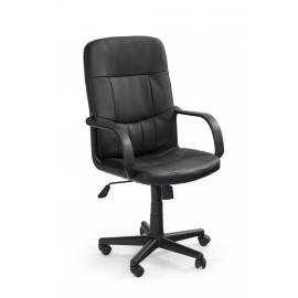 Fotel Obrotowy Denzel (czarny)- Halmar