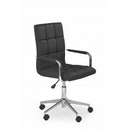 Fotel Obrotowy Gonzo 2 (czarny)- Halmar