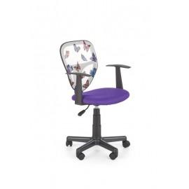 Fotel Obrotowy Spiker (fioletowy)- Halmar