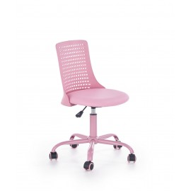 Fotel Obrotowy Pure (różowy)- Halmar