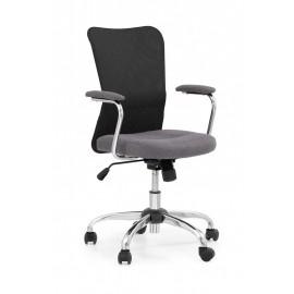 Fotel Obrotowy Andy (czarny)- Halmar