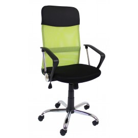 Fotel obrotowy QZY- 2501 (zielony)- Furnitex