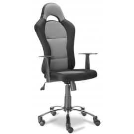 Fotel Obrotowy QZY-1109C (szary)- Furnitex