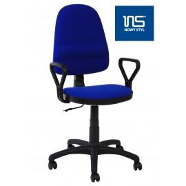 Fotel Obrotowy Bravo (niebieski)- Furnitex