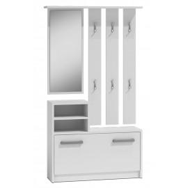 Garderoba 1 (biała)- Furnitex