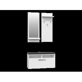 Garderoba 5 (biała)- Furnitex
