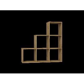 Regał R3 (dąb artisan)-Furnitex