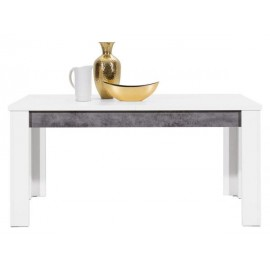 Stół BRANDO B-10 biały,beton- Bogfran
